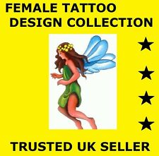 (D180) HUGE FEMALE TATTOO DESIGN IDEAS AND IMAGES