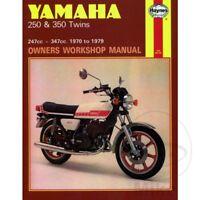 Yamaha RD 250 1976 Haynes Service Repair Manual 0040