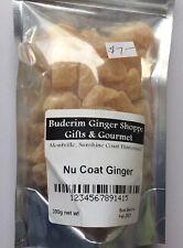 NuCoat (Uncrystallised) Ginger 200g - plain packaged Buderim Ginger Naked