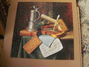 VINTAGE SPRINGBOK MUNICH STILL LIFE, 1884 JIGSAW PUZZLE 500 pc COMPLETE PZL 2057