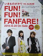 Ikimonogakari FUN FUN FANFARE 2014 Japan Promo Poster