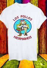 Los Pollos Hermanos Breaking Bad Walter White Men Women Unisex T-shirt 2757