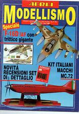Rivista AEREI MODELLISMO n° 11 Novembre 1994