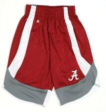 Alabama Crimson Tide Boys Colosseum Athletic Shorts Adjustable Waist Size XS