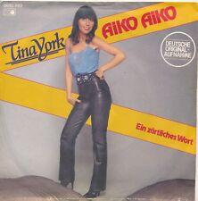 "Aiko Aiko - Tina York - Single 7"" Vinyl 142/07"