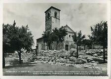 SEGNI - Chiesa di S. Pietro - 1940