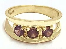 0.85 Carats Changing Color ALEXANDRITE RING 14k * Free Shipping Service*