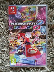 Jeu Mario Kart Deluxe 8 (Nintendo Switch, 2017) très bon état