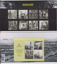 GB 2010 BRITAIN ALONE + MS PRESENTATION PACK # 442 SG:3074-3081 -3085 MINT SET