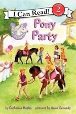 Pony Scouts: Pony Party (I Can Read Book 2)-ExLibrary