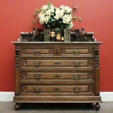 Oak Antique Chest of Drawers