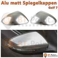 Alu espejo tapas vw golf 7 espejo carcasa mirror replacement cover de aluminio