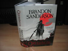 Brandon Sanderson - Oathbringer Signed Numbered 50/100 1st Stormlight Archive 3
