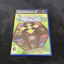 PS2 Midway Arcade Treasures 2 FRG CD état neuf