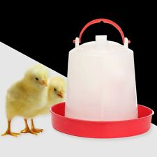 UK Chicken Feeder Drinker Poultry Chick Hen Quail Bantam Food Water 1L Farm