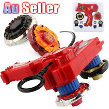 4D Metal Grip Launcher Kids Top Fight Rapidity Beyblade Set Master Fusion Rare