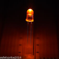 25x LED 5mm NARANJA 20mA diodo diode orange