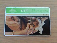 BT Phone card - St Tiggywinkles, 20units, Used