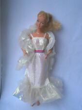 Barbie Vestido De Muñeca Barbie 1983 Cristal y robaron (TLC) Super Star era