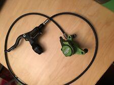 Rare Team Green Hope Mono Mini Front Disc Brake Carbon fiber lever