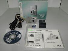 "Canon IXUS 70  7.1 Mega Pixels Digital Camera With 2 GB Card & Box In ""VGWO"""