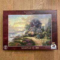 Puzzle 1000 pièces ❤️ THOMAS KINKADE - Painter of Light - Schmidt - Complet