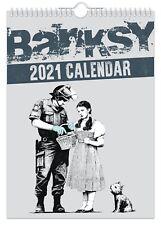 Banksy - 2021 Wall Calendar // Funny / Quirky / Christmas / Birthday / Gift