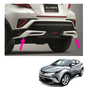 Rear Spoiler Sub Lh Rh Sub Assy Unpaint Genuine Fits Toyota C-HR Suv 2018 - 2019