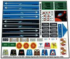 Replica Pre-Cut Sticker for Train 9V set 4561 - Railway Express (1999)