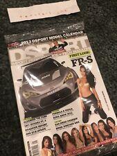 DSPORT Import Performance Magazine January 2013 + Calendar Sealed New