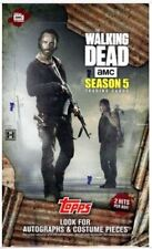THE WALKING DEAD SEASON 5 TRADING CARDS BASE SET TRADING CARDS TOPPS 2016