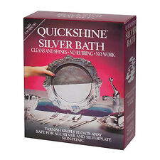 Clean your napkin rings and clips with Quickshine Silver Bath