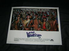Original THE WARRIORS 22x28 ROLLED Michael Beck James Remar Walter Hill