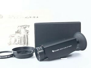 RARE <EXC+++> Fujica Close Up Finder For GS645 w/Close Up Filter Hood Japan 2709