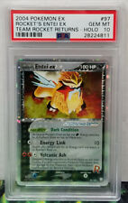 Pokemon Team Rocket Returns Rocket's Entei 97/109 PSA 10 Gem Mint #28224811
