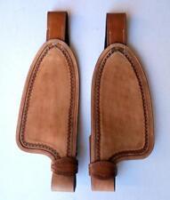 Neu Schwarz oder Braun Steigbügel Fender aus Leder hoher Qualität