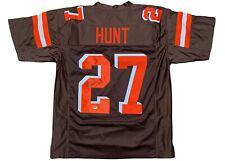Kareem Hunt autographed signed jersey NFL Cleveland Browns PSA COA