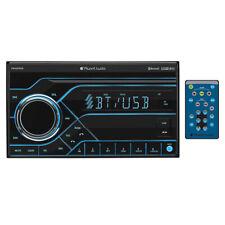 Planet Audio PB455RGB Double Din Digital Media Receiver AM/FM Bluetooth w/USB