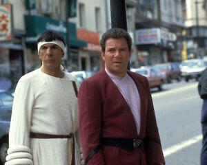 William Shatner & Leonard Nimoy [1011483] 8x10 photo (other sizes available)