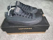 Señoras Converse Black Zapatillas Size UK 5