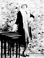 PORTRAIT ACTRESS LOUISE BROOKS SILENT STAR USA ART POSTER PRINT CC7018