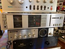 Vintage Nakamichi BX-1 cassette deck -beautiful And Working faceplate clean