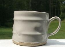 LIFE SANDALS STYLE/RESORT~HOTEL~STONEWARE~COFFEE~TEA~MUG/ CUP~WHITE