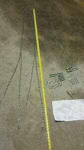 Replacement porch swing / swing chain hardware kit    9PC