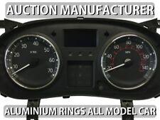 Opel Movano  2003-2010  2- Teilig Aluminium Tachoringe / Tacho Ringe