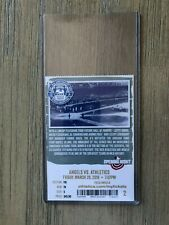 2019 Oakland Athletics MLB Official Mint Ticket Stubs - pick any game!