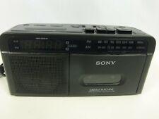 Sony Dream Machine Tape Deck/Alarm Clock ICF-C610 AM/FM Radio Cassette Player