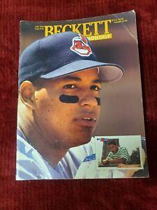 BECKETT BASEBALL CARD MONTHLY JULY 1994 MANNY RAMIREZ