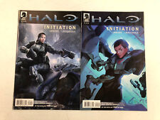 Halo #1 - #2  Initiation  -Comic Book Lot- CHECK MY OTHER ITEMS