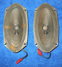 69-71 Ford Thunderbird Lincoln Mark III ORIG 8 TRACK AM-FM STEREO DOOR SPEAKERS